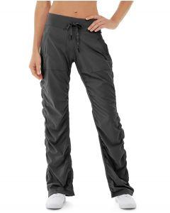 Cora Parachute Pant-28-Black